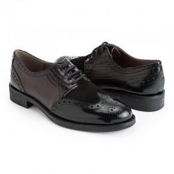 Zapato Oxford piel negro...