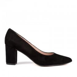 Zapato tacón ante negro