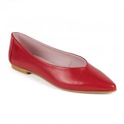 Bailarina piel roja