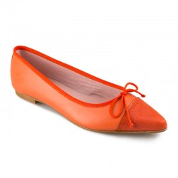 Bailarina piel naranja