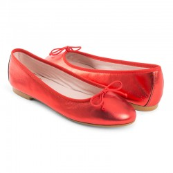 Bailarina plana piel color...