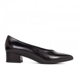 Zapato piel negro