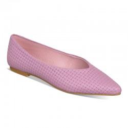 Bailarina trenza rosa