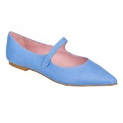 Bailarina azul pulsera