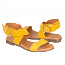 Sandalia serraje amarillo