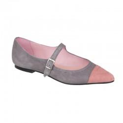 Bailarina ante gris-rosa