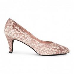 Zapato piel tipo serpiente