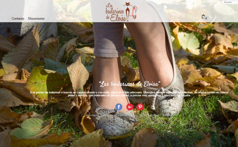 nueva colección bailarinas otoño de Eloísa
